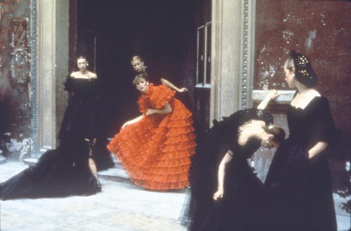 Deborah Turbeville, Valentino Collection, 1977