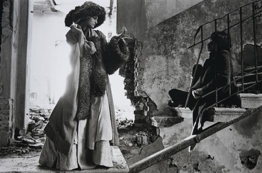 Deborah Turbeville, Stables of Strelna, Russian Vogue, 2000