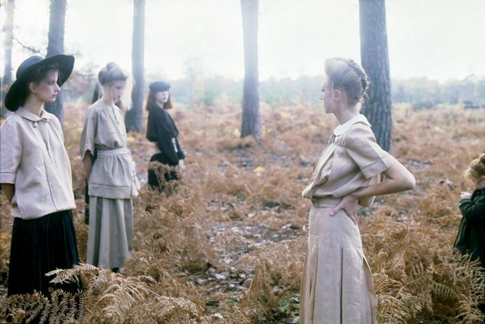 Deborah Turbeville, Valentino Fashion, Normandy, Vogue Italia, 1978