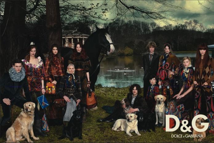 D&G 2008/09 ad campaign