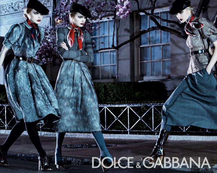 Dolce&Gabbana F/W campaign