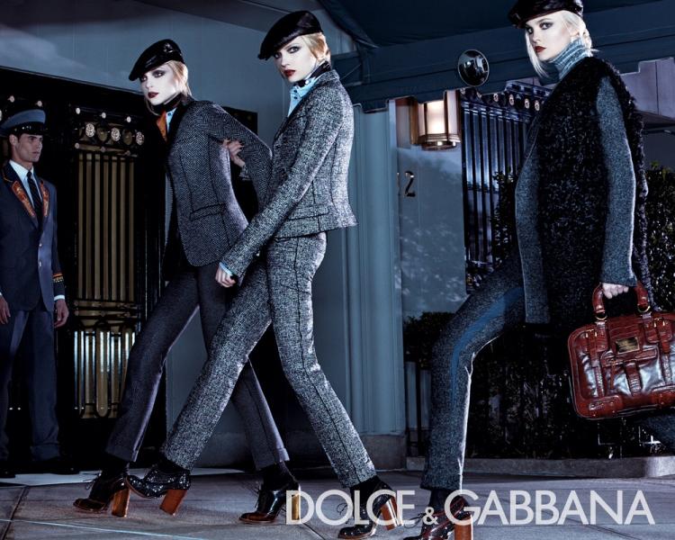 Dolce&Gabbana 2008/09 campaign