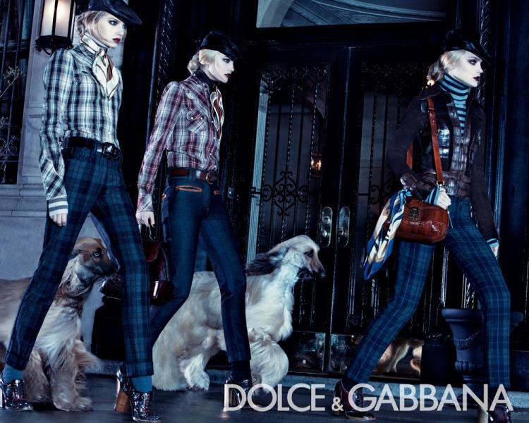 Dolce&Gabbana ad campaign
