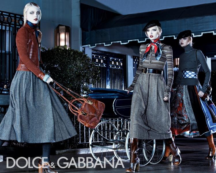Dolce&Gabbana womenswear campaign