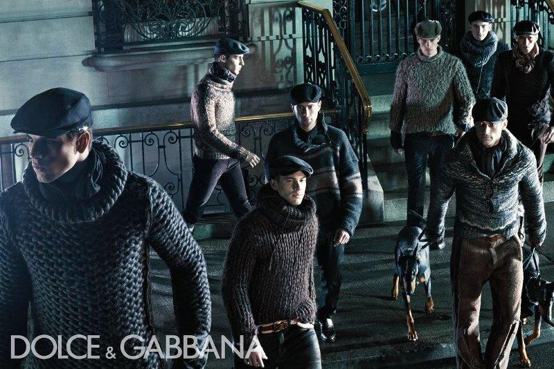 Dolce&Gabbana menswear campaign