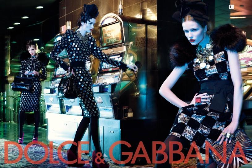 Dolce&Gabbana fall 2009 ad campaign womenswear