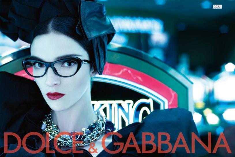 Dolce&Gabbana fw 2009/2010 eyewear campaign