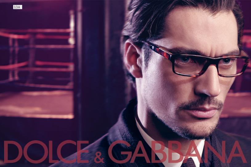 Dolce&Gabbana fw 2009/2010 eyewear ad