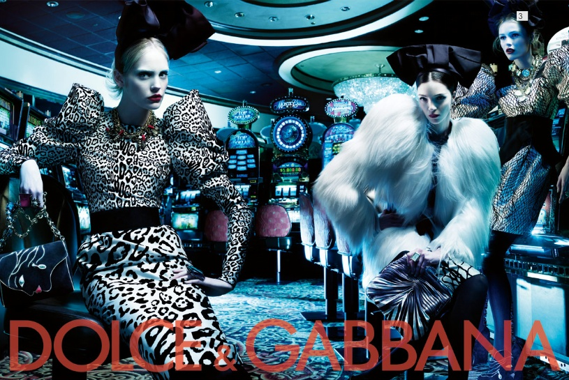 Dolce&Gabbana fw 2009/2010 womenswear ads
