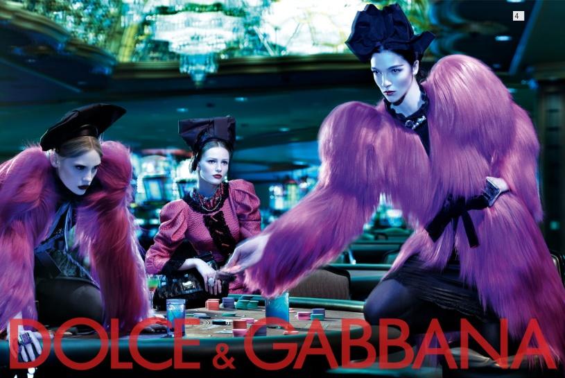 Dolce&Gabbana fw 2009/2010 womenswear campaign