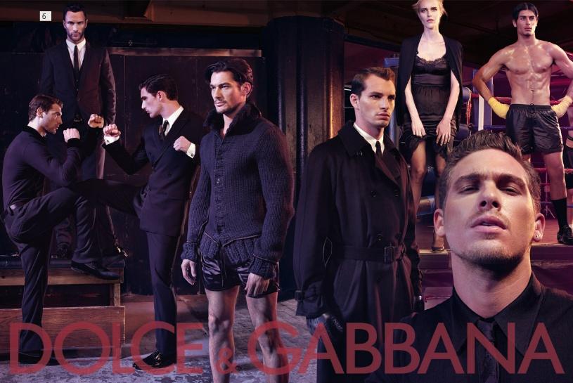 Dolce&Gabbana fw 2009/2010 menswear campaign