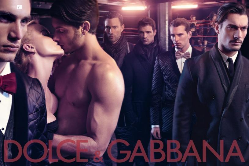 Dolce&Gabbana fw 2009/2010 menswear ads