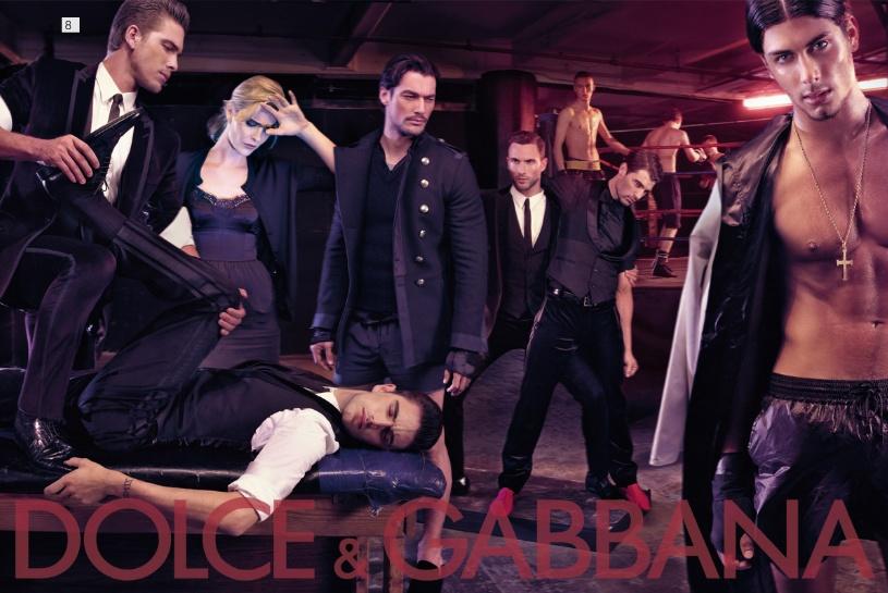 Dolce&Gabbana fall 2009 menswear ads