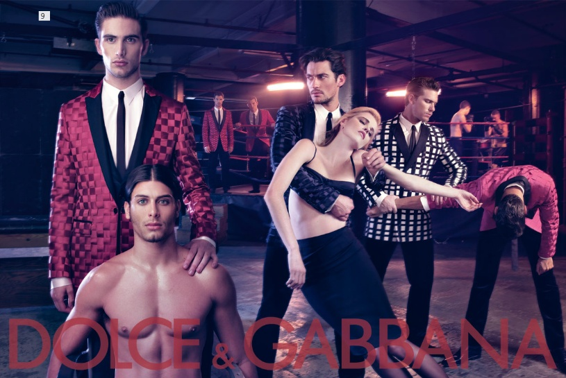 Dolce&Gabbana fall 2009 menswear campaign