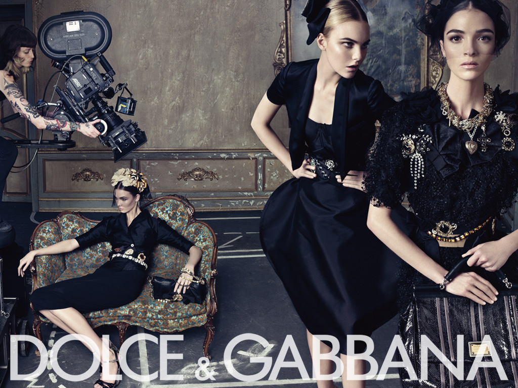 16fd9d7e35 Oh Fashion Blogs  Dolce   Gabbana - Haute Fashion
