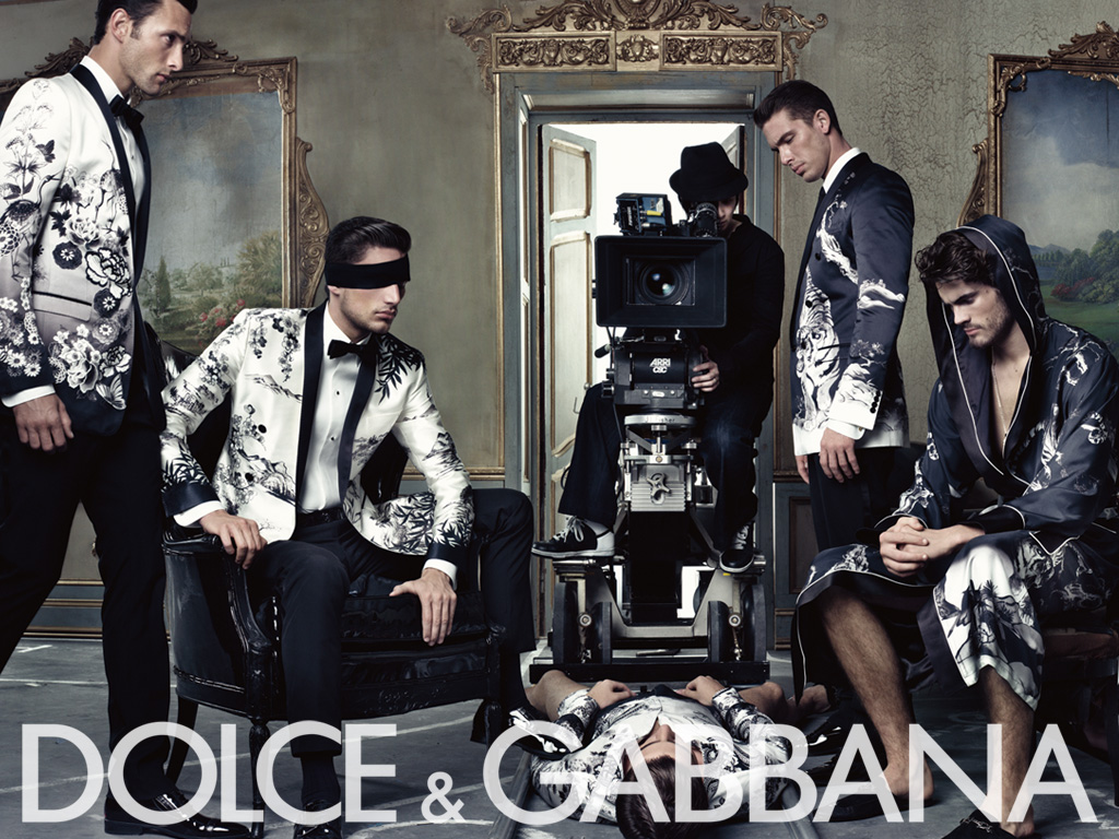 Dolce&Gabbana ss09 mens ad campaign