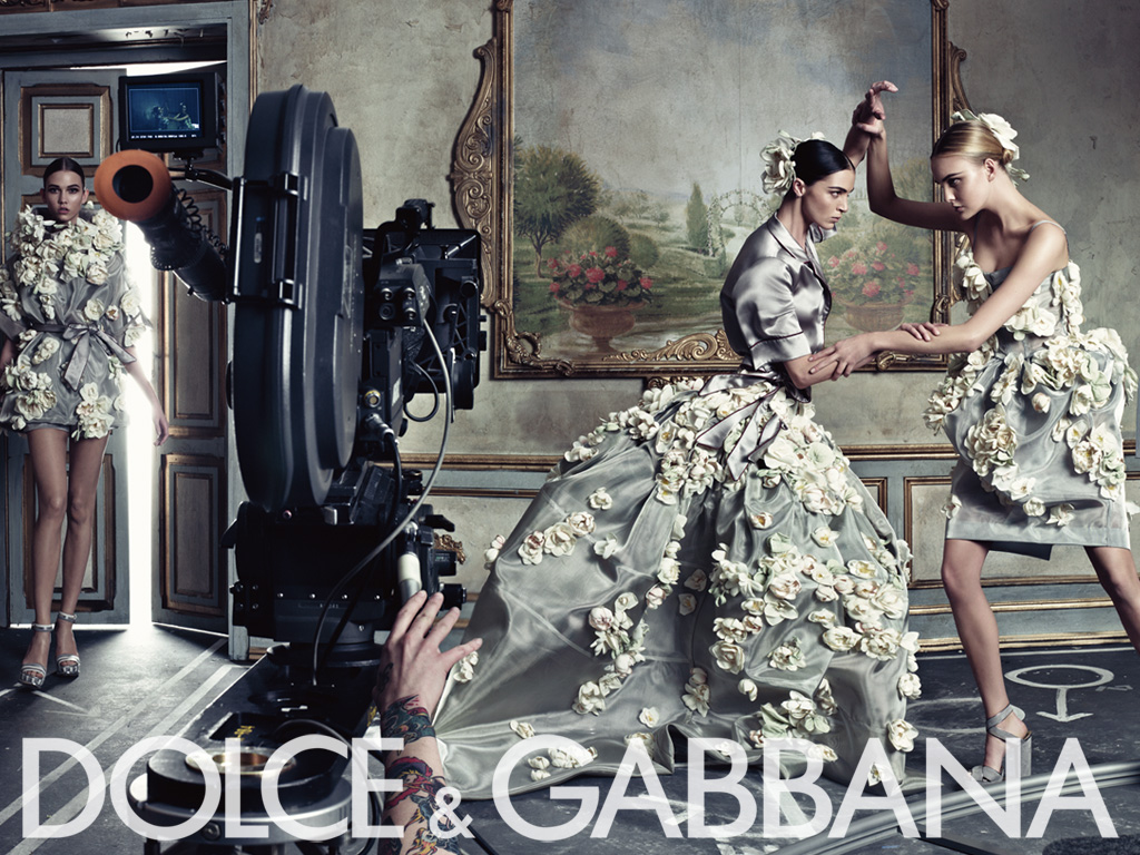 Dolce&Gabbana ss09 ad campaign womens