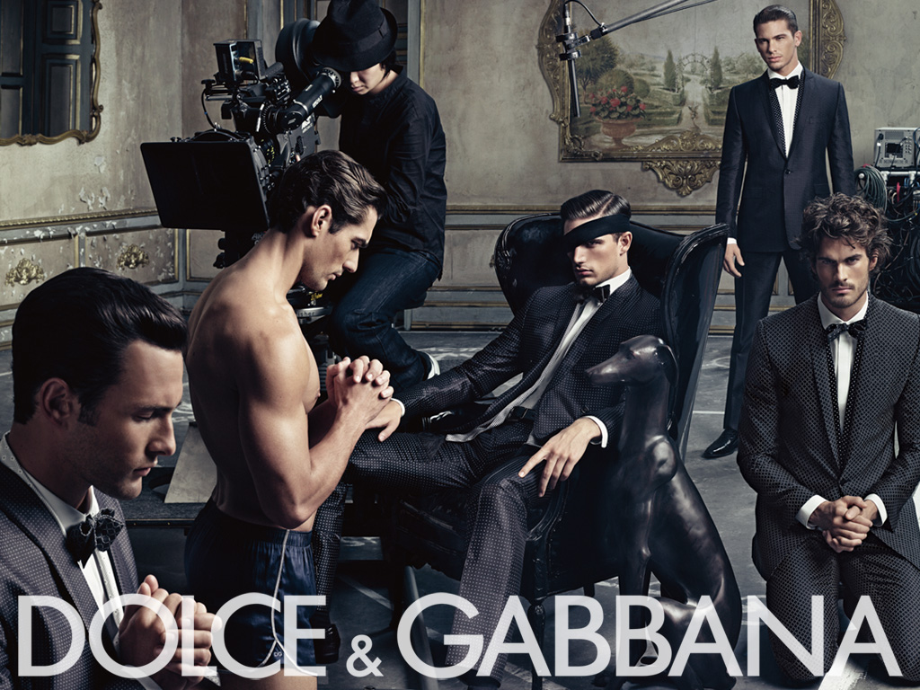 Dolce&Gabbana ss09 ad campaign mens