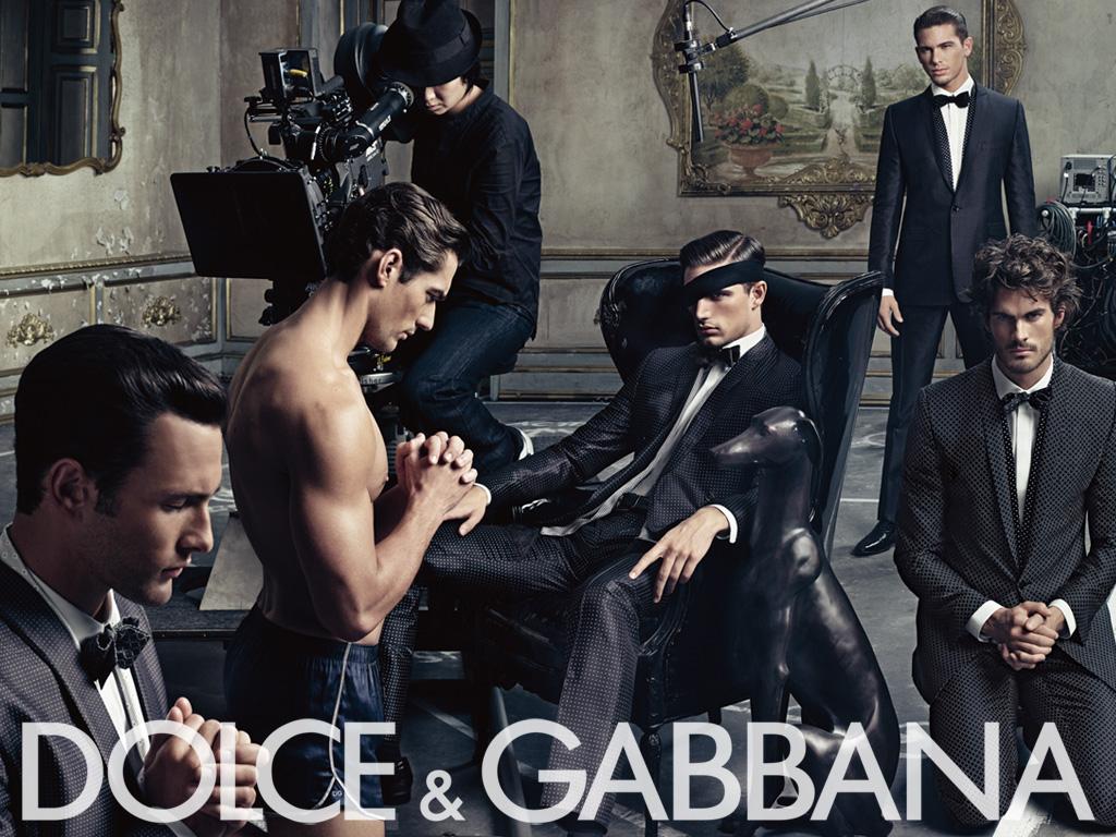 Dolce&Gabbana ss09 ad campaign mens