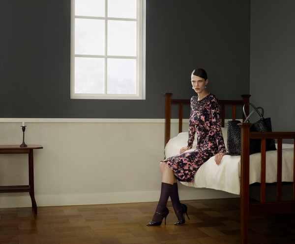Aymeline Valade by Erwin Olaf for Bottega Veneta FallWinter 2013 Ad Campaign