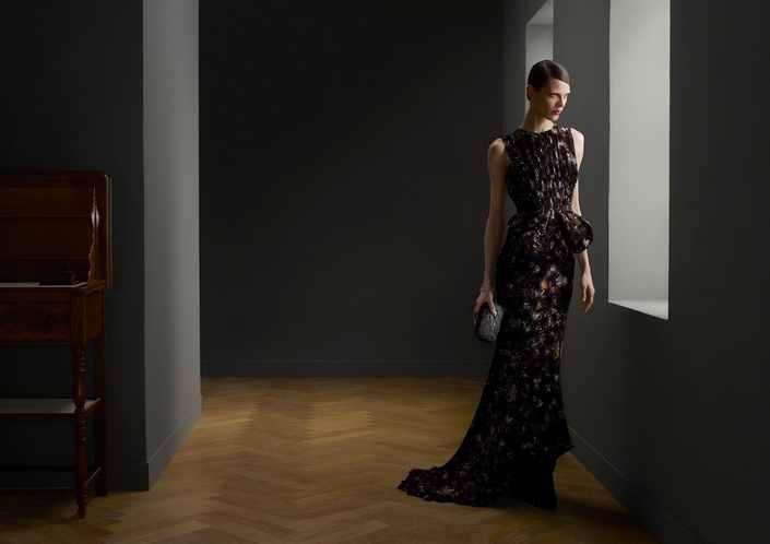 Aymeline Valade in Bottega Veneta FallWinter 2013 Ad Campaign by Erwin Olaf
