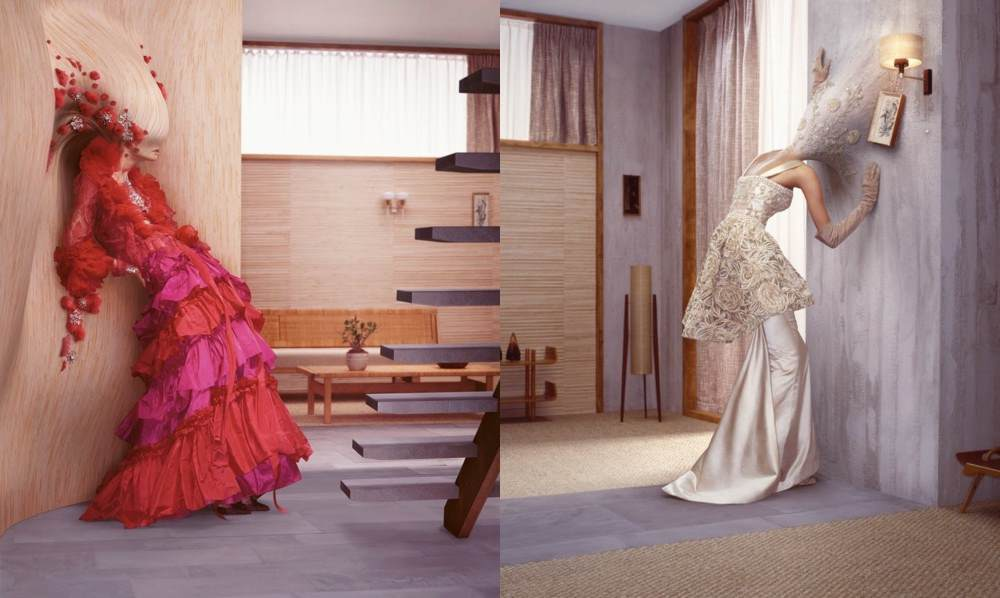 Erwin Olaf, NY Times, haute couture editorial, 2006