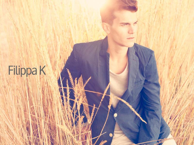 Vincent LaCrocq in Fillipa K man ad campaign