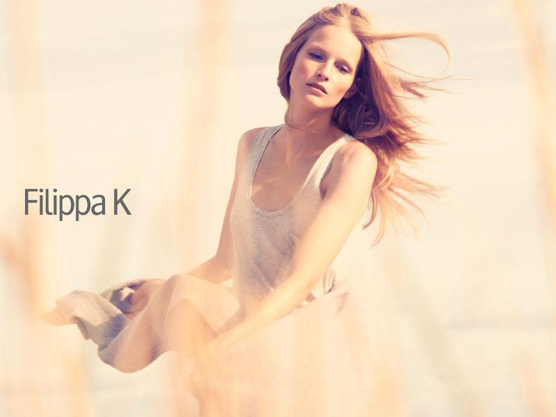 Fillipa K woman ad campaign by Camilla Akrans