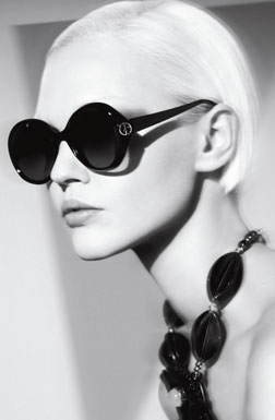 Giorgio Armani ss09 womens eyewear