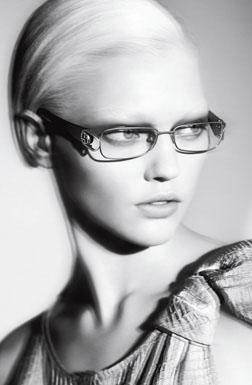 Giorgio Armani ads womens eyewear