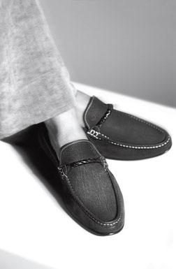 Giorgio Armani spring 2009 mens footwear