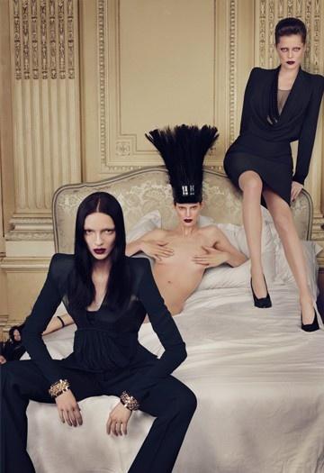 Givenchy ad fall09 women