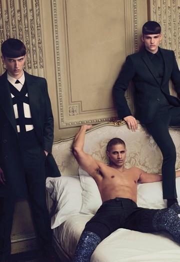 Givenchy ad fall09 men