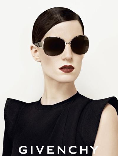 Givenchy eyeware ad fw09/10