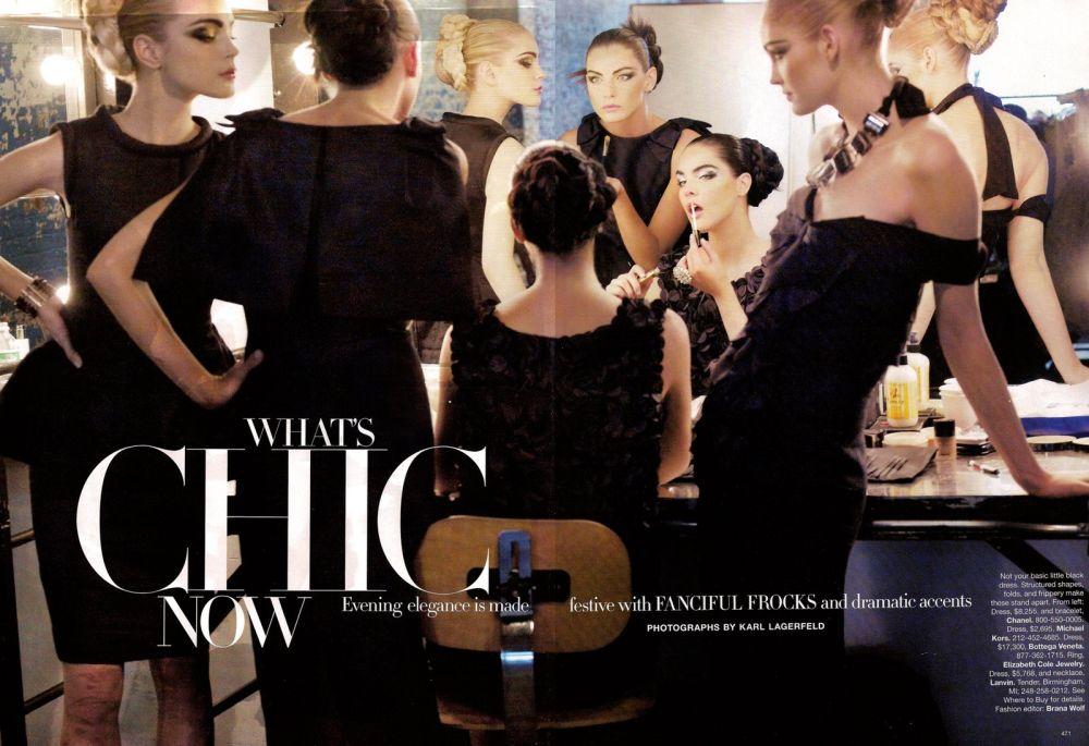 Hilary Rhoda Harper's Bazaar