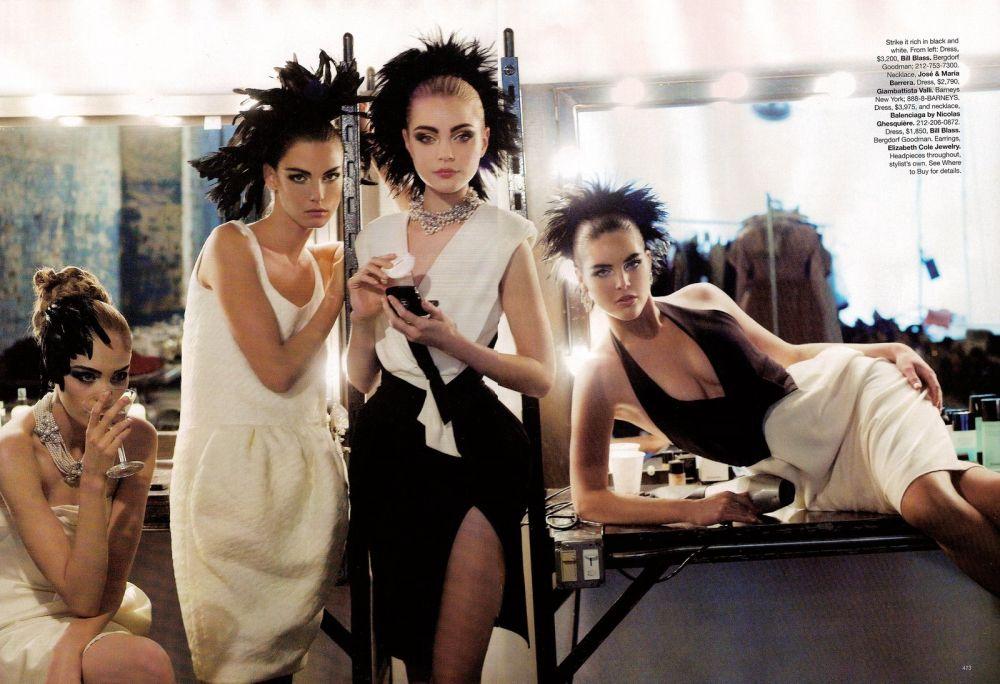 Jessica Stam Harper's Bazaar