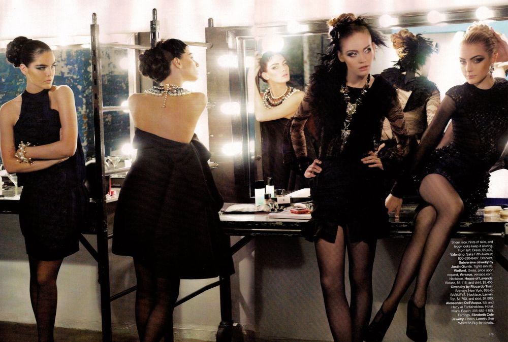 Harper's Bazaar Karl Lagerfeld