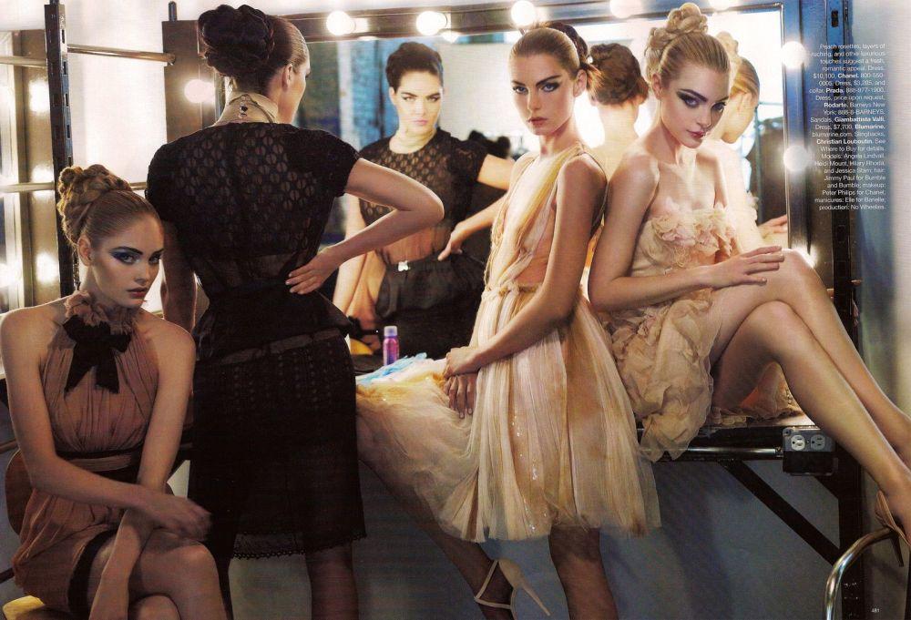 Harper's Bazaar september 2008