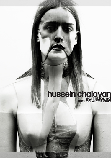Ann-Catherine Lacroix - Hussein Chalayan ad