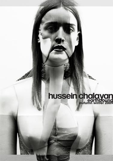 Ann-Catherine Lacroix - Hussein Chalayan ad