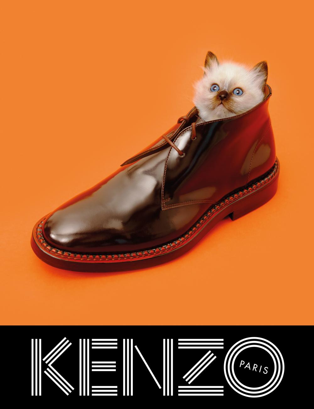 Kenzo fall/winter 2013 ad campaign by Maurizio Cattelan, Pierpaolo Ferrari