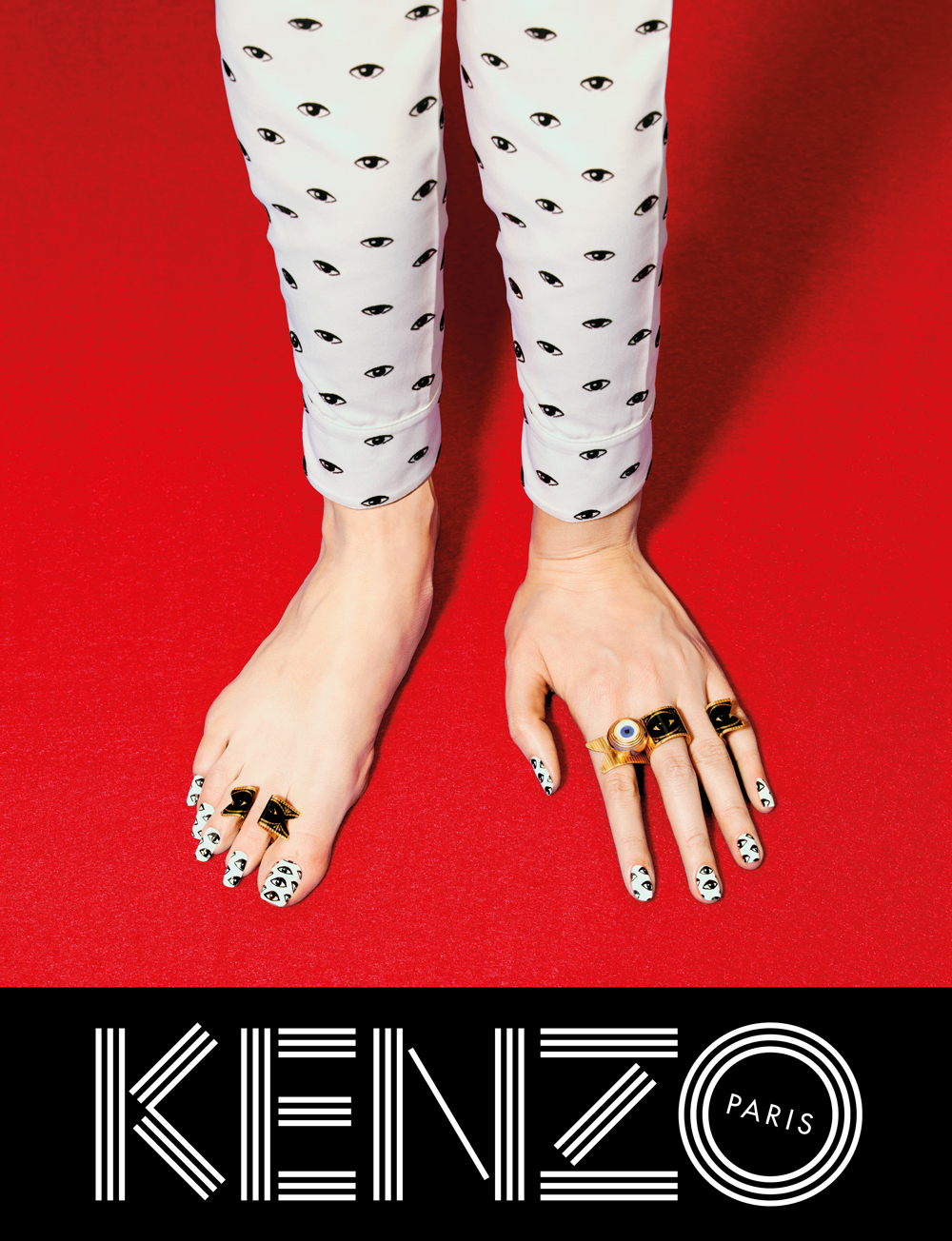 Kenzo fall/winter 2013 ad campaign by Pierpaolo Ferrari, Maurizio Cattelan