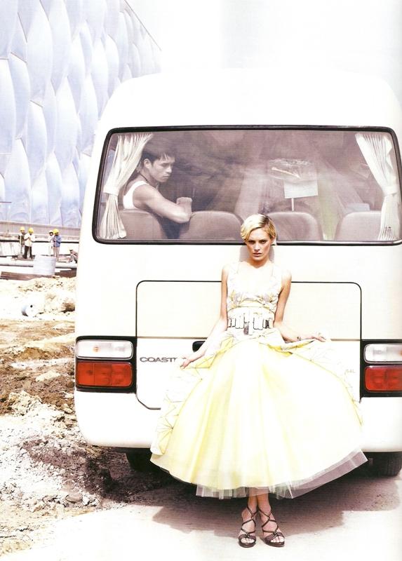 Lagerfeld Fendi photoshoot