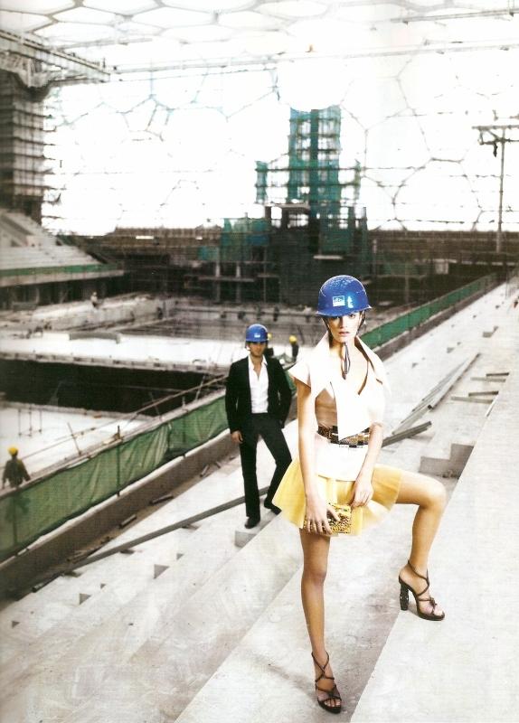 Lagerfeld Fendi editorial