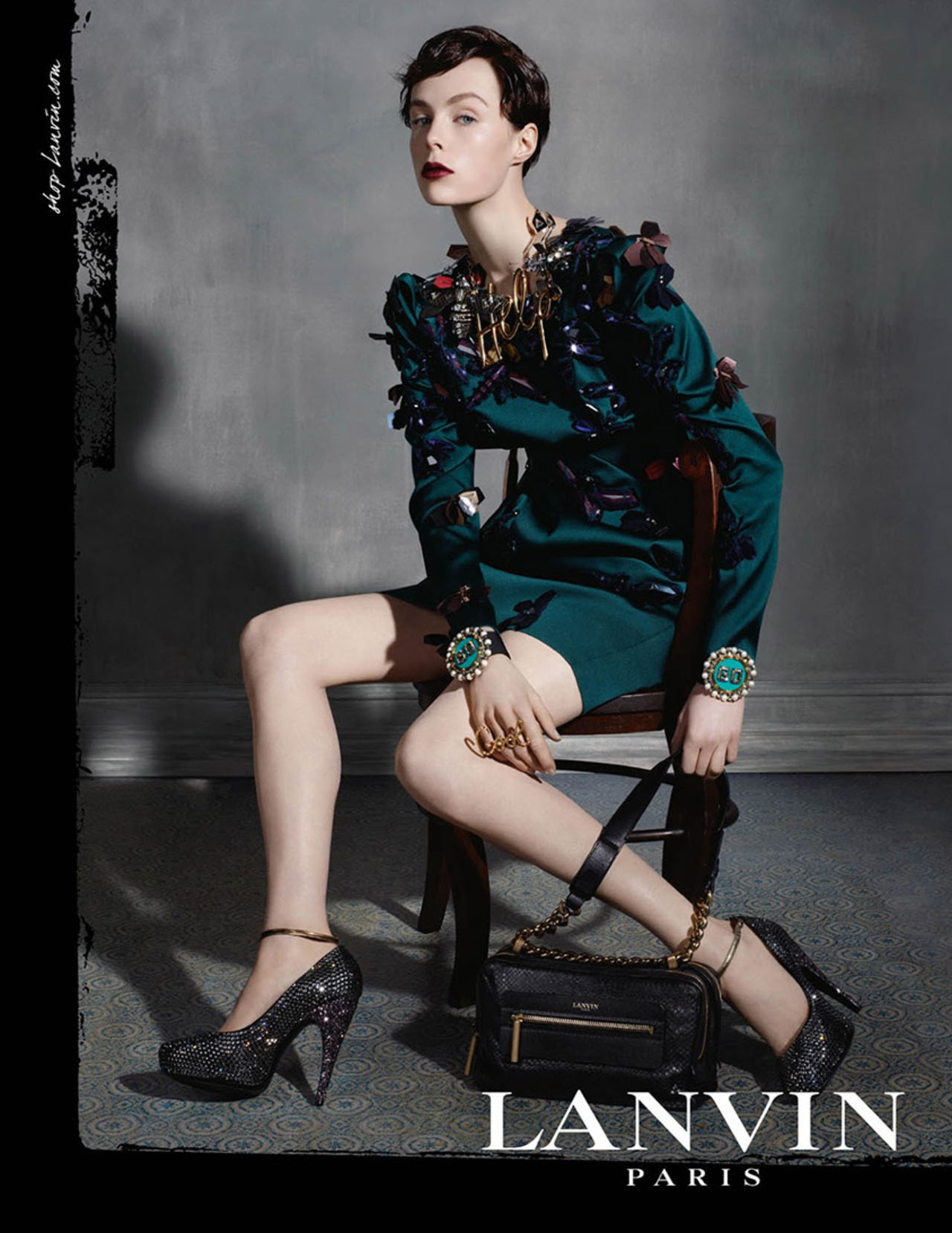 Lanvin FW 2013-2014 ad campaign by Steve Meisel
