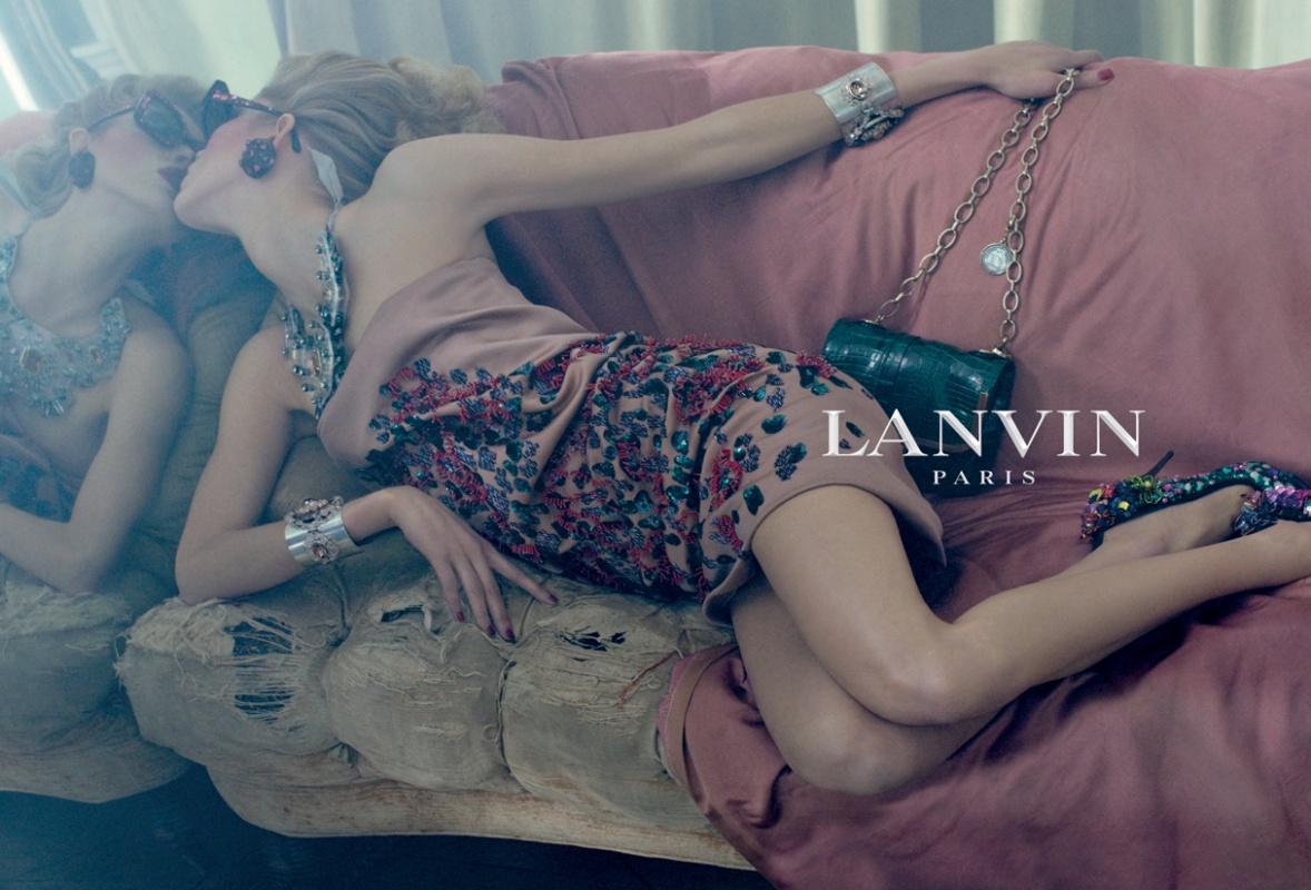Lanvin ss09 ad campaign