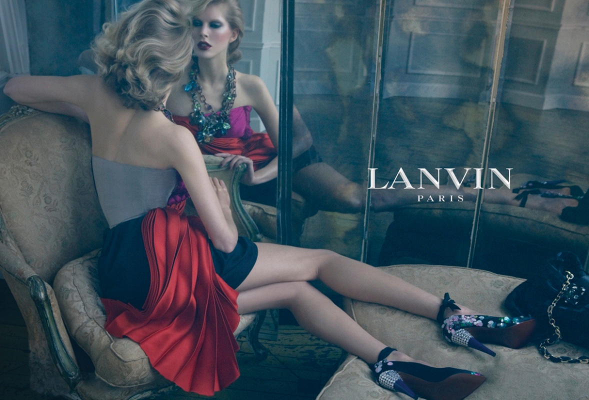 Lanvin spring/summer 2009 ad