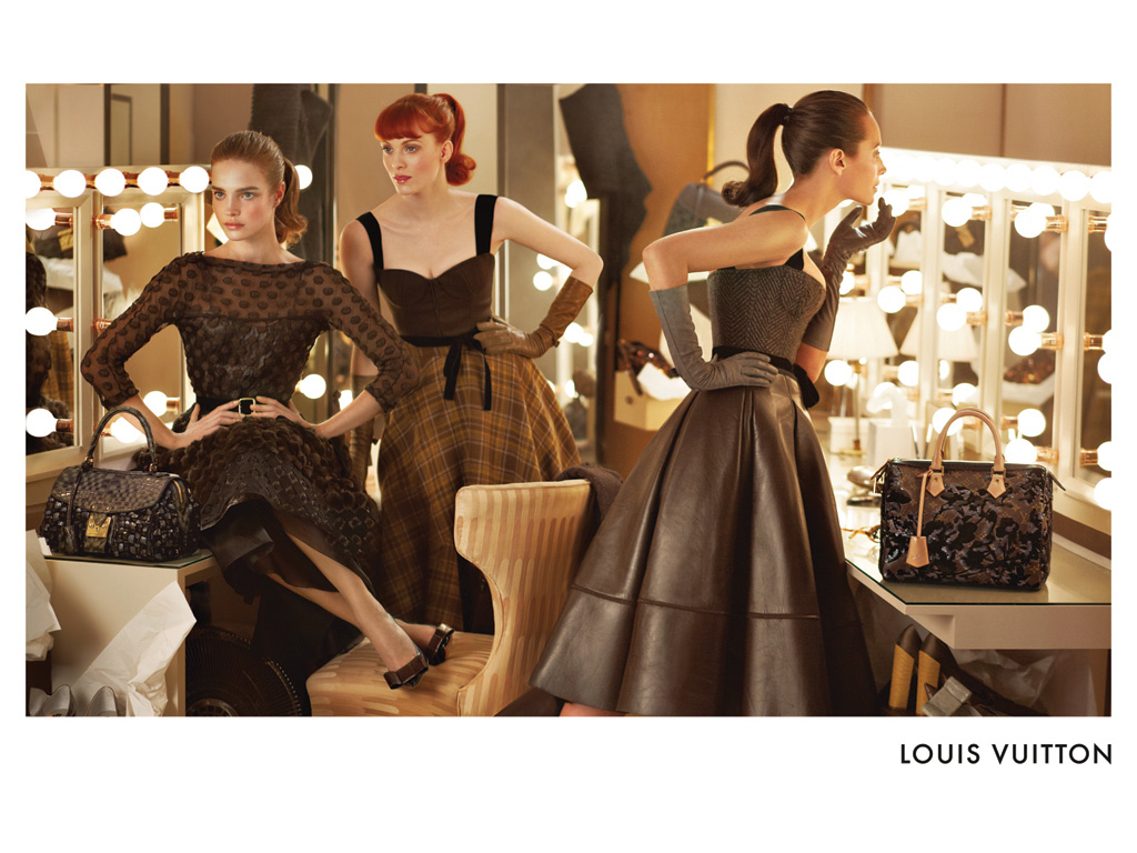 Louis Vuitton fall 2010 campaign