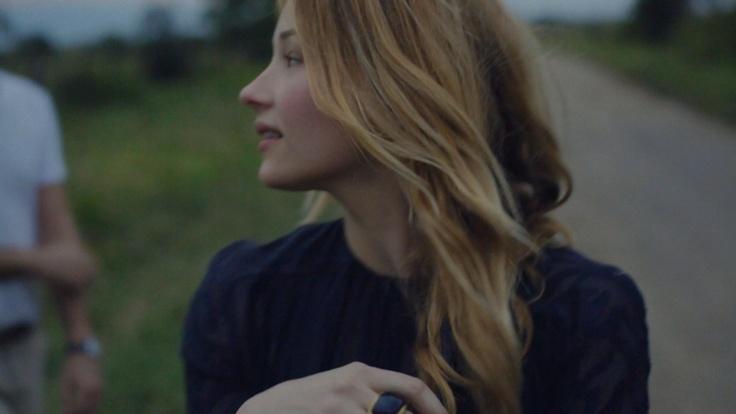Haley Bennett starring in Maiyet fashion film