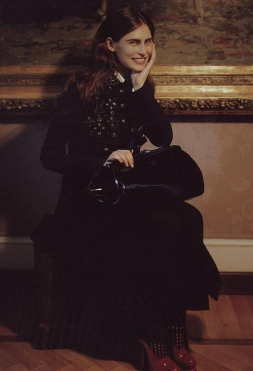 Bianca Balti by Manuela Pavesi, Grey Magazine fall/winter 2012